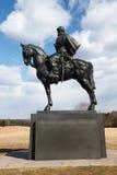 Virginia - obstructie voer het Standbeeld van Jackson Stock Foto's