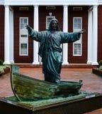 Virginia plaży Zlany kościół metodystów, Virginia fotografia royalty free