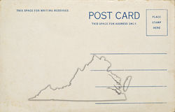 Virginia Postcard Stock Photos