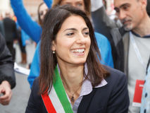 Virginia Raggi Zdjęcia Royalty Free