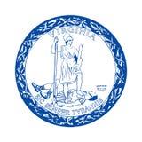 Virginia Seal illustration de vecteur