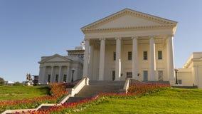 Virginia State Capital Building Downtown stads- mitt Richmond fotografering för bildbyråer