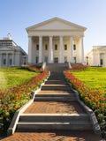 Virginia State Capital Building Downtown stads- mitt Richmond royaltyfria bilder