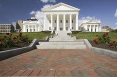 Virginia State Capitol restaurada 2007, Foto de Stock