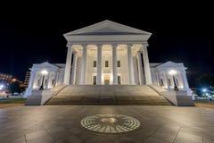 Virginia State Capitol - Richmond, la Virginia fotografia stock libera da diritti