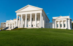 Virginia state capitol Stock Photography