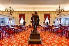 Virginia State Capitol - Richmond, Virgínia imagens de stock