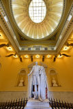 Virginia State Capitol - Richmond, Virginia. Richmond, Virginia - Feb 19, 2017: Monument to George Washington in the rotunda in the Virginia State Capitol in royalty free stock photography
