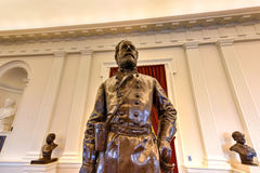 Virginia State Capitol - Richmond, Virginia. Richmond, Virginia - February 19, 2017: Confederate monument in the Old House Chamber in the Virginia State Capitol Royalty Free Stock Photo