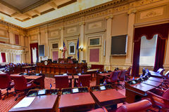 Virginia State Capitol - Richmond, Virginia. Richmond, Virginia - February 19, 2017: Old House Chamber in the Virginia State Capitol in Richmond, Virginia Royalty Free Stock Photography