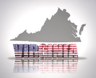 Virginia State Royalty Free Stock Images