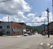 Virginia Street occidentale pendant l'été images libres de droits