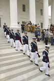 Virginia Tech Corps of Cadets Royalty Free Stock Photos