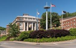 Virginia University del oeste en Morgantown WV Fotos de archivo libres de regalías
