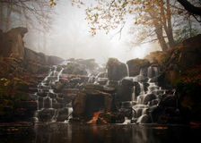 Virginia Water Cascades Stock Image