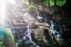 Virginia waterfall royalty free stock photos