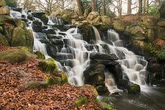 Virginia Waters cascade Stock Photo
