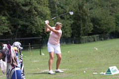 Virginie Lagoutte (FRA) Evian Masters 2011 Royalty Free Stock Photo