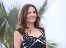 Virginie Ledoyen woont de Juryv.n. bij Bepaalde Achting photocall stock foto's