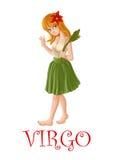 Virgo гороскопа Стоковые Фото