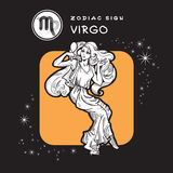 Virgo - Astrology Sign. Royalty Free Stock Photography