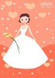 Virgo bride Royalty Free Stock Photography