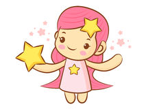 Virgo Constellation Character Design. Zodiac Character Design Se Royalty Free Stock Images
