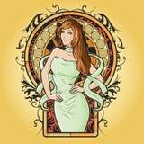 Virgo del zodiaco Fotografía de archivo libre de regalías