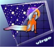 Virgo di Astro Illustrazione Vettoriale