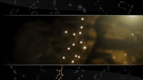 virgo för teckenstjärnaoskuld Fotografering för Bildbyråer