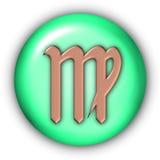 Virgo Glyphs Stock Images