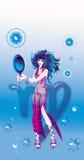 virgo szyldowy zodiak Zdjęcie Royalty Free