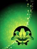 Virgo zodiac background Stock Image