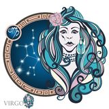 Virgo. Zodiac sign Royalty Free Stock Photo
