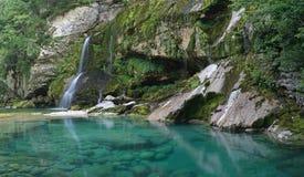 водопад virje Стоковые Изображения