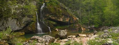 водопад virje Стоковое фото RF
