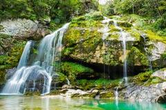 Virje vattenfall Royaltyfria Bilder