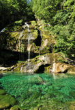 Virje waterfall, Slovenia Stock Image