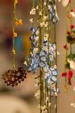 Virkade blommor, Istanbul, Turkiet royaltyfri bild