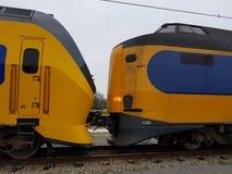Virm поезда и icm Стоковые Фото