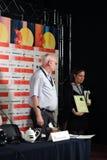 Virna Molina, режиссер фильма, Аргентина Стоковое Изображение RF