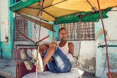 Viroksha in der Mitte von altem Havana lizenzfreie stockbilder