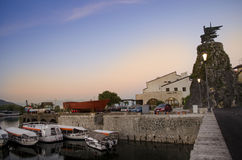 Virpazar Μαυροβούνιο Στοκ φωτογραφία με δικαίωμα ελεύθερης χρήσης