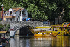 The Virpazar is a popular village near Skadar lake with various. Tourist facilities Stock Images