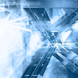 Virtual abstract background Royalty Free Stock Photos