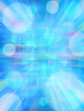 Virtual Abstract Blue Background Stock Photos