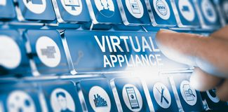Virtual Appliance, Software or Applications Distribution stock images