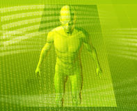 Virtual avatar Royalty Free Stock Photo