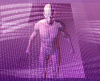 Virtual avatar vector illustration