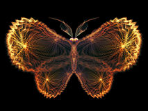 Virtual Butterfly Stock Photo